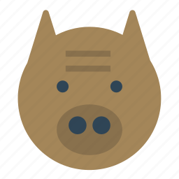 animal, avatar, pig, pork icon