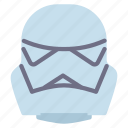 avatar, humanoid, starwars, storm, trooper icon