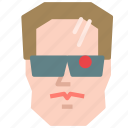 avatar, cyborg, humanoid, terminator icon