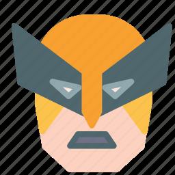 avatar, humanoid, superhero, wolfverine icon