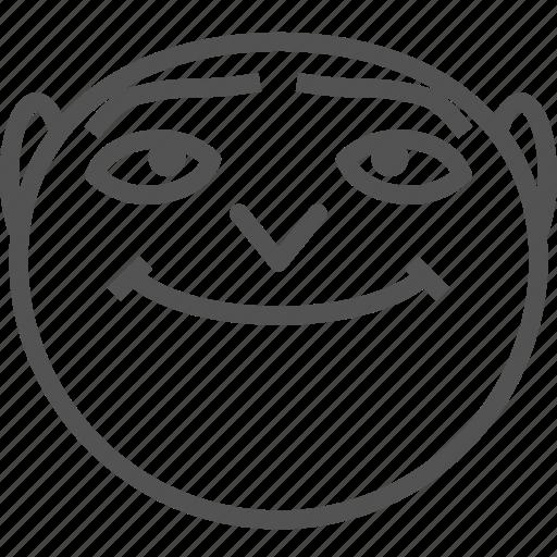 alien, avatar, happy, humanoid, space, stupid icon