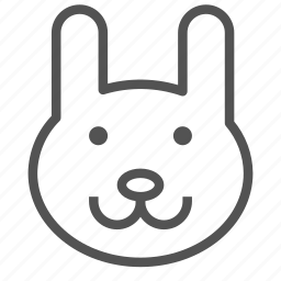 animal, avatar, bunny, rabbit icon