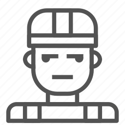 avatar, construction, human, worker icon