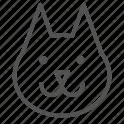 animal, avatar, dog, pitbull icon