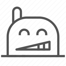 avatar, face, fictional, happy, mole, yeah icon