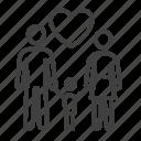 child, love, boy, woman, heart, family, people