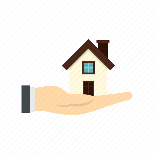construction, estate, hand, home, house, property, real icon