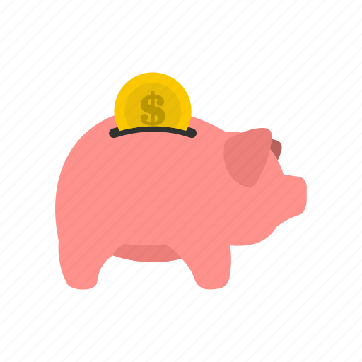 Bank, box, dollar, money, pig, safe, save icon - Download on Iconfinder