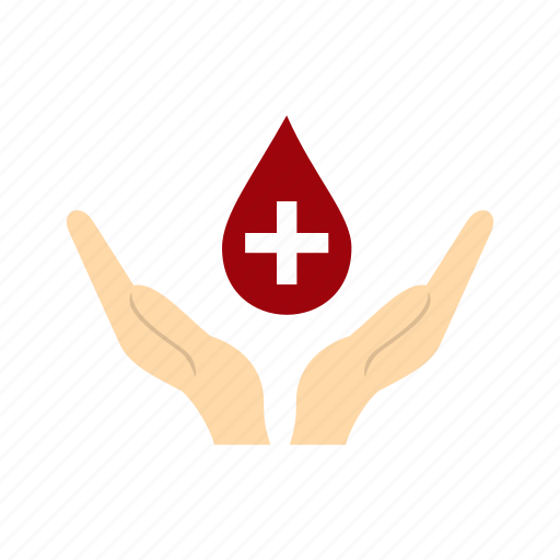 Blood, charity, donate, donation, donor, drop, hand icon - Download on Iconfinder