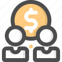 backer, backers, crowdfunding, donate, donation, investor, supporter icon