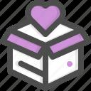 box, charity, dollar symbol, donate, donation, money, solidarity icon