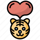 animal, canine, charity, dog, heart, pet, puppy icon