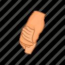 people, two, strife, unity, hand, cartoon, gesture