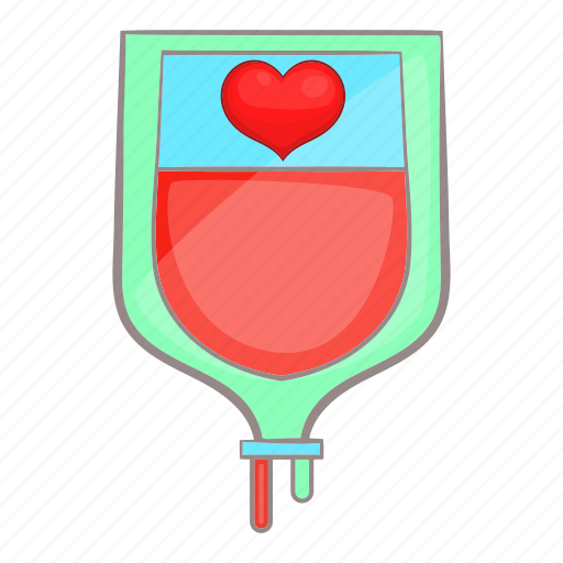 aid, bag, blood, cartoon, concept, donor, medical icon