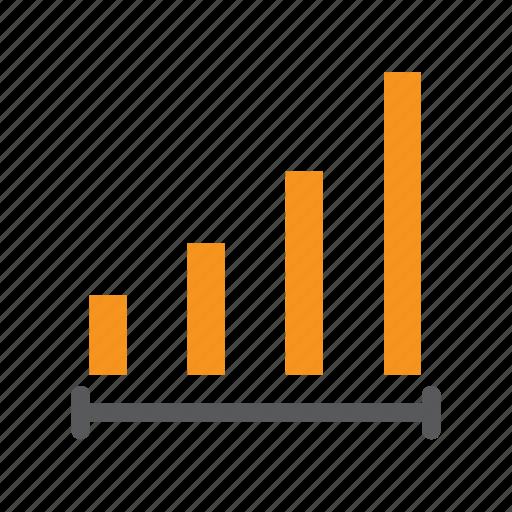analysis, chart, graph, grow, line, statistic icon
