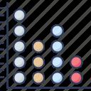 chart, graph, increase