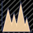 chart, graph, analytics