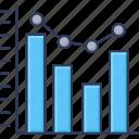 growth, bar, graph, chart