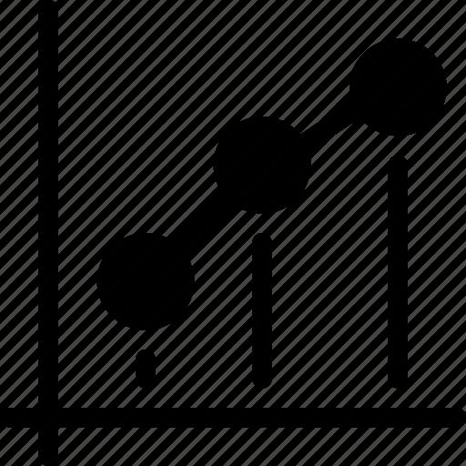 analysis, chart, dot, graph, report, statistics icon