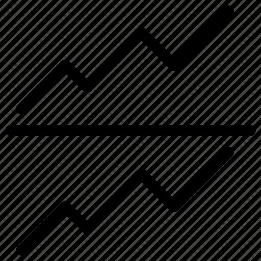 chart, graph, line, report, statistics icon