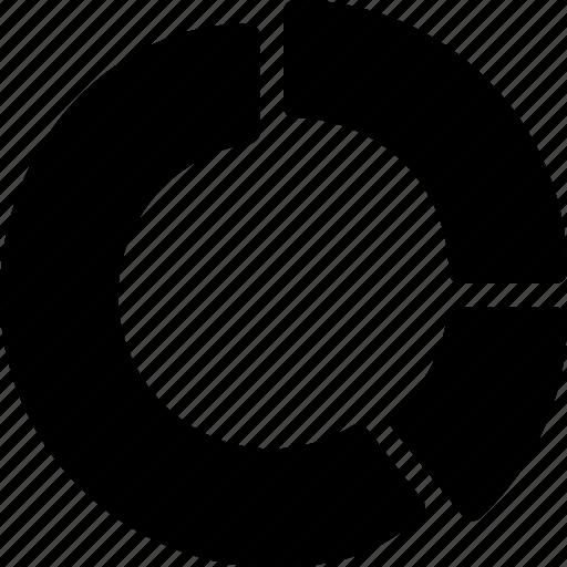 chart, graph, report, ring, statistics icon