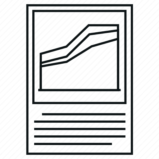 analytics, area charts, chart, diagram, graph, report icon