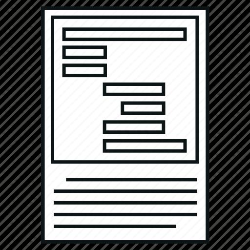 chart, diagram, gantt, gantt chart, project, report, time icon