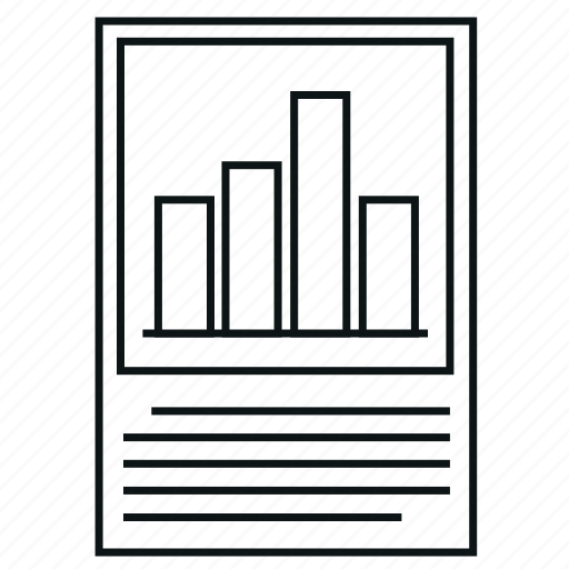 analytics, bar chart, chart, diagram, histograms, report icon
