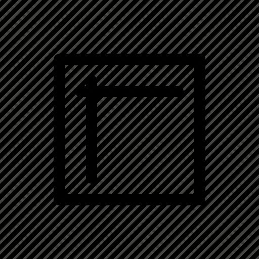 chart, flowchart, internal, storage icon