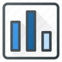 analytics, bar, chart, infographic, insight, presentation icon