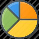 analytics, chart, fragment, infographic, insight, pie, presentation icon