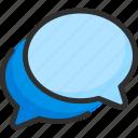 box, bubble, chat, forum, message