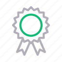 achievement, award, badge, medal, success icon