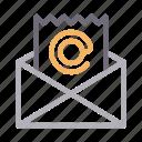 email, envelope, inbox, message, receipt
