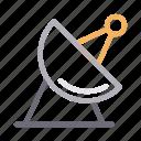 antenna, communication, dish, satellite, signal icon