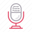 audio, mike, recorder, sound, speaker icon