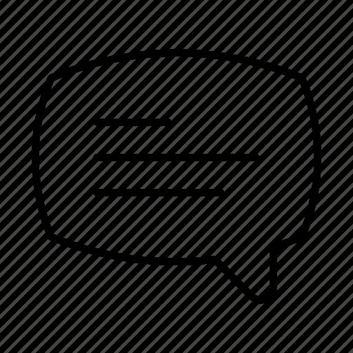 chat, chat bubble, communication, conversation, dialogue, message, talk icon