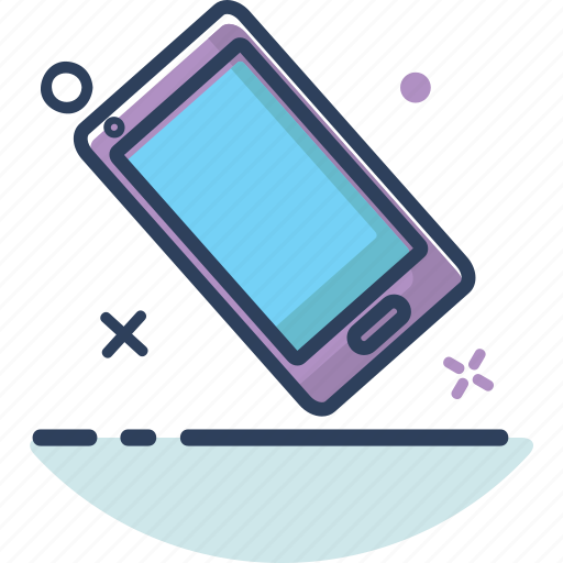 chat, communication, device, line filled, mobile, phone, smartphone icon