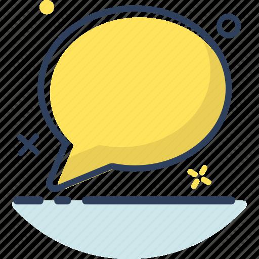bubble, chat, communication, conversation, mail, message, talk icon