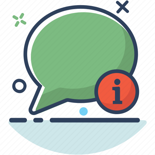 bubble, chat, communication, conversation, information, message, talk icon