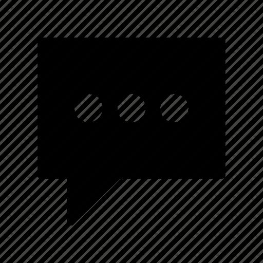 bubble, chat, comment, message, notification icon