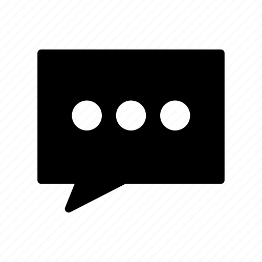 Bubble, chat, comment, conversation, message icon - Download on Iconfinder