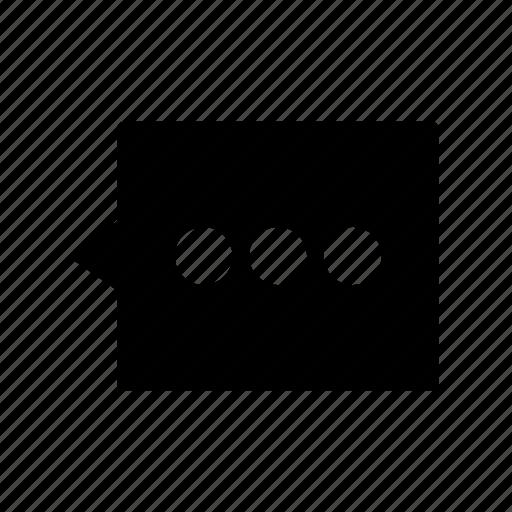 bubble, comment, conversation, discussion, text icon
