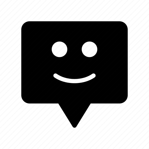 conversation, discussion, emoji, face, smiley icon