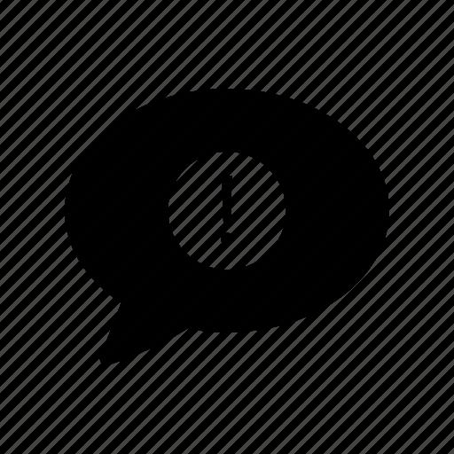 alert, bubble, error, notice, warning icon