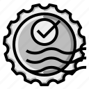 check, mark, passed, stamp icon
