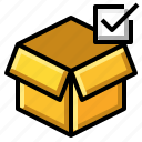 check, mark, passed, product icon