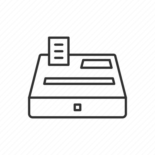 buy, cash, cash register, payment, sell icon