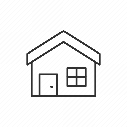 back, building, home, house icon