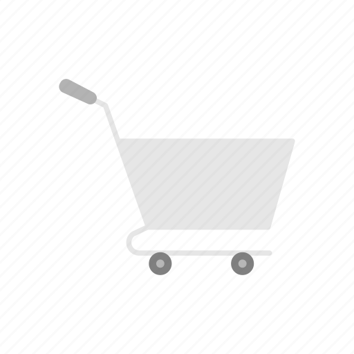cart, online shop, push cart, shopping icon